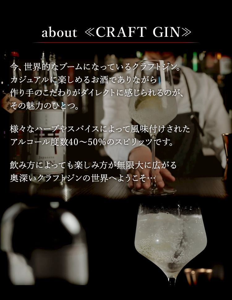 about CRAFT GIN